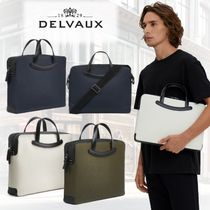 DELVAUX(デルヴォー) ビジネスバッグ・アタッシュケース 直営買付【DELVAUX】人気★Magritte Computer Bag レザーバッグ