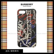 BURBERRY Iphone 7 Case ロゴ 残りわずか 送関込