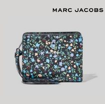 MARC JACOBS★THE SOFTSHOT DITSY FLORAL MINI COMPACT WALLET