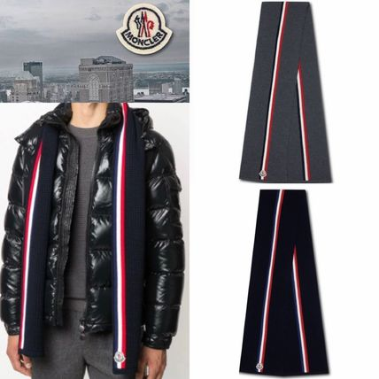 【Moncler】国内発送/関税込☆Waffle Knitted Scarf*