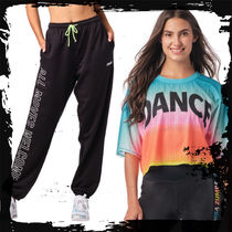 ◆SET UP⑩2点◆Dance In Color Top+A M Welcome Sweatpants