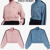 FRED PERRY(フレッドペリー) ブルゾン UK発 FRED PERRY クロップトップ トラックジャケット/送料込