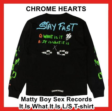 Chrome Hearts Matty Boy Sex Records It Is What It Is L/S TEE