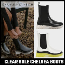 【Charles & Keith】CLEAR SOLE CHELSEA BOOTS チェルシーブーツ