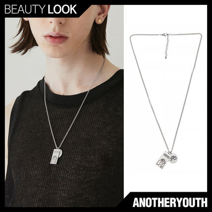 【ANOTHERYOUTH】2 pendant necklace★アナザーユースネックレス