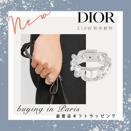 【Dior】CD ICON チェーンリンク リング◆パリ買付◆