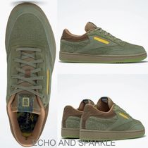 【Reebok】National Geographic x Club C Washed Green コラボ