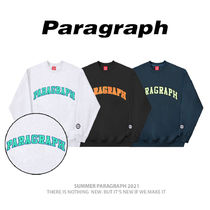 【Paragraph】PRG Colorful Embroidery MTM 公団 スウェット