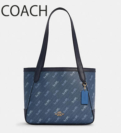 COACH★ Horse And Carriage Tote 27 (追跡付き) C4060