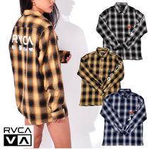 RVCA(ルーカ) シャツ 【RVCA】BROTHERS FLANNE ロングスリーブシャツ★3カラー人気