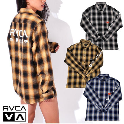 【RVCA】BROTHERS FLANNE ロングスリーブシャツ★3カラー人気