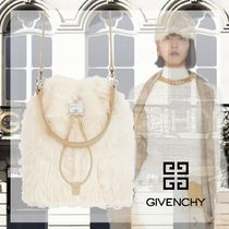 【GIVENCY】関税送料無料4G フェイクファー軽量バケットバッグ