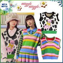 ★wigglewiggle★Knitted Vest - Cat On Cow