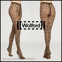 NEW♪【Wolford】JOSEY TIGHTS アニマル プリント ストッキング