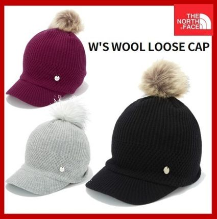 [THE NORTH FACE] W'S WOOL LOOSE CAP ★優れた保温性★