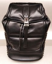 TOD'S(トッズ) バックパック・リュック VIPセール70%オフ【TODS BACKPACK NAPA LEATHER BLACK】