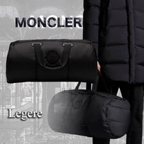 【MONCLER】LEGERE ロゴパッチ ナイロン ボストンバッグ
