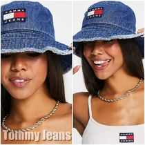 【Tommy Jeans】flag ロゴデニムバケットハット 送料込