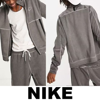 ▲NIKE▲ Revival washed jersey ラックロゴジャケット