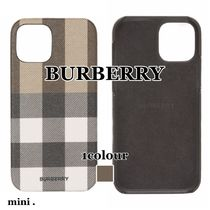 【BURBERRY】 RUFUS MAGSAFE iPhone12/12 Pro ケース