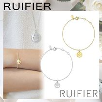 【RUIFIER】FRIENDS スマイル チェーンブレスレット silver/gold