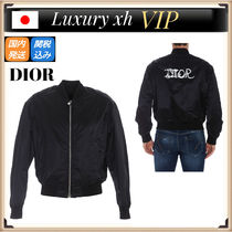 ★ 21AW DIOR AND PETER DOIG ロゴ ボンバージャケット ブルゾン