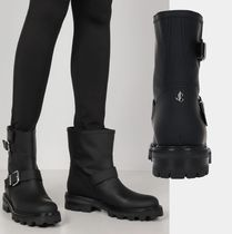Jimmy Choo YOUTH II  LEATHER COMBAT BOOTS☆関税込/国内発送
