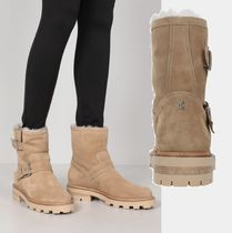 Jimmy Choo YOUTH II SUEDE COMBAT BOOTS☆関税込/国内発送