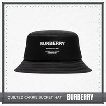 {BURBERRY} QUILTED CARRIE BUCKET HAT 送料関税込