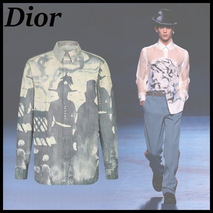 Dior ディオール 21AW 新作 DIOR AND PETER DOIG シャツ