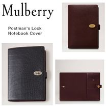 Mulberry(マルベリー) デザイン文具・ステーショナリその他 【Mulberry】ノートブックカバー Postman's Lock Notebook Cover
