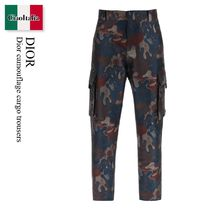 Dior camouflage cargo trousers