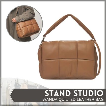 [STAND STUDIO] WANDA QUILTED LEATHER BAG (送料関税込み)