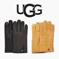 UGG【国内発送・関税込】TABBED SPLICE VENT LEATHER GLOVE
