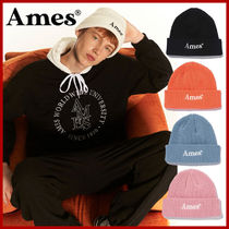 AMES-WORLDWIDE(アメスワールドワイド) ニットキャップ・ビーニー AMES-WORDWIDE★21fw★ COLORED LOGO BEANIE 5カラー