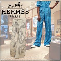 【21AW】Zouaves et Dragons Finesse パンツ ◆エルメス◆