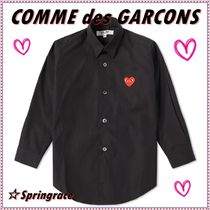 COMME des GARCONS(コムデギャルソン) キッズ用トップス ☆COMME des GARCONS☆ PLAY KIDS レッドハートシャツ【送料込】