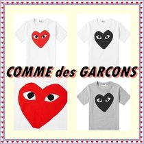 COMME des GARCONS(コムデギャルソン) キッズ用トップス ☆COMME des GARCONS☆ PLAY KIDS ハートロゴTシャツ【送料込】