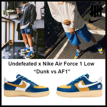 ★NIKE × UNDEFEATED★ AIR FORCE 1 LOW SP 5 On IT COURT BLUE
