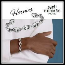 HERMES☆Chaine d'Ancre Enchainee bracelet ブレスレット☆送込