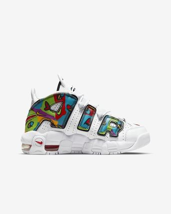 Nike キッズスニーカー 【大人もOK】Nike Air More Uptempo 'PEACE, LOVE, SWOOSH'(4)