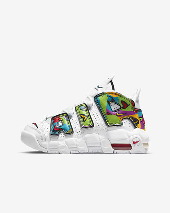 Nike キッズスニーカー 【大人もOK】Nike Air More Uptempo 'PEACE, LOVE, SWOOSH'(6)