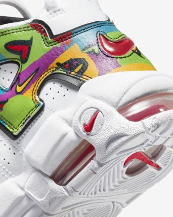 Nike キッズスニーカー 【大人もOK】Nike Air More Uptempo 'PEACE, LOVE, SWOOSH'(7)