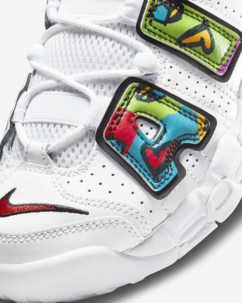 Nike キッズスニーカー 【大人もOK】Nike Air More Uptempo 'PEACE, LOVE, SWOOSH'(8)