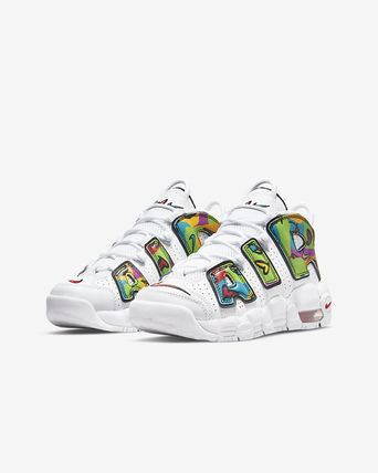 Nike キッズスニーカー 【大人もOK】Nike Air More Uptempo 'PEACE, LOVE, SWOOSH'(9)