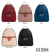 21AW☆GUESS*Millville*おしゃれなロゴ・バックパック♪