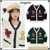 TARGETTO SEOULの[LOONEY TUNES X TGT]COLLEGE CARDIGAN 全3色