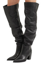 Leather Knee-High Boots 80 レザー ニーハイブーツ