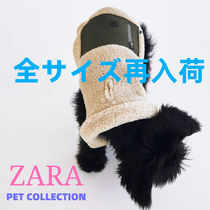 ZARA(ザラ) ペット(犬猫)服 ZARA【PET COLLECTION】FAUX SHEARLING PET COLLECTION JACKET