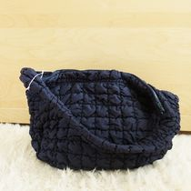 """COS(コス) バッグ・カバンその他 """"COS"""" QUILTED OVERSIZED SHOULDER BAG NAVY"""